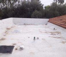 flat roof inspection