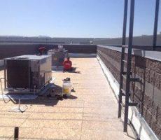 flat roof prep