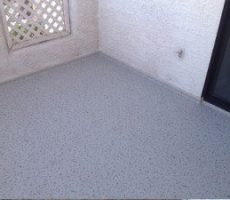 gray duradek floor balcony