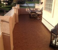 new duradek floor balcony