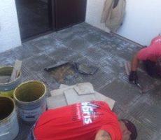 prepare floor