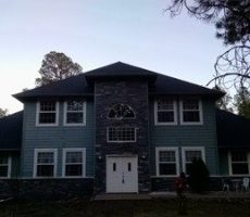 roofing restoration project
