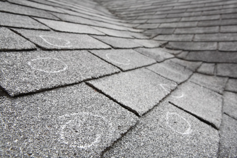 hail damage shingles flagstaff