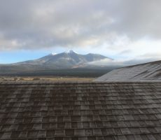 view from roof in flagstaff arizona