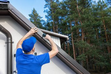 installing a roof drip edge