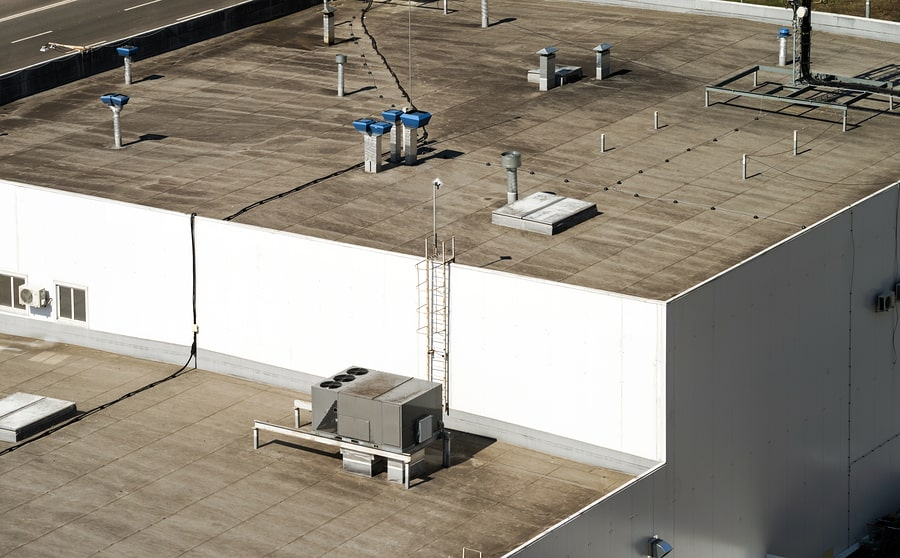 commercial roof care