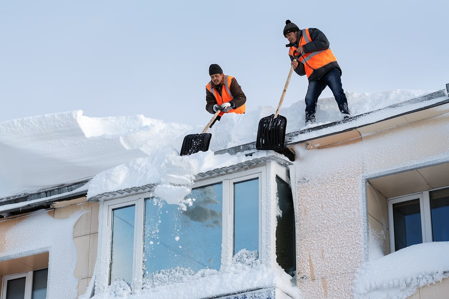 roof problems snow